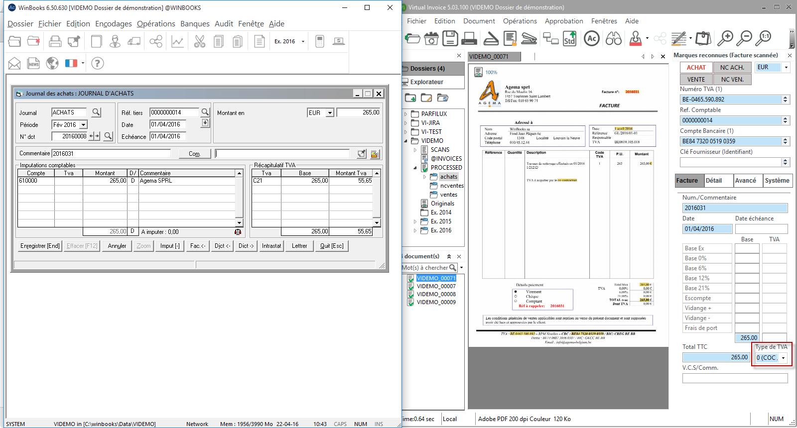 Exemples de factures fournisseurs - Virtual Invoice Help ...