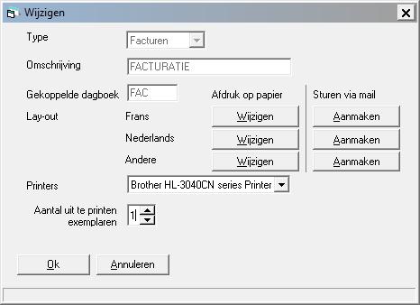 een factuur Een factuur lay out toevoegen   Help On line WinBooks Classic NL